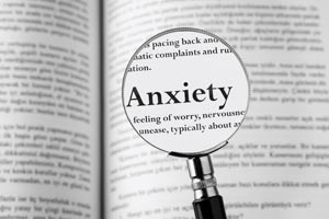 Anxiety is a condition treated by David Lipsig, MD, Atlanta Psychiatrist